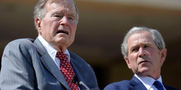 Imagen de archivo de Bush padre e