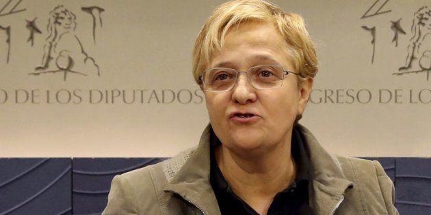 La diputada socialista Ángeles Álvarez en el