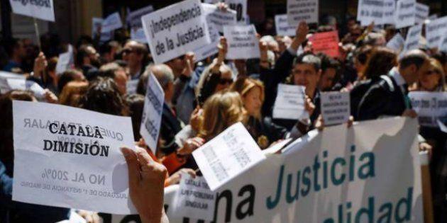 Concentración de jueces y fiscales en