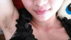 Lo último en 'selfies': enseñar las axilas sin depilar