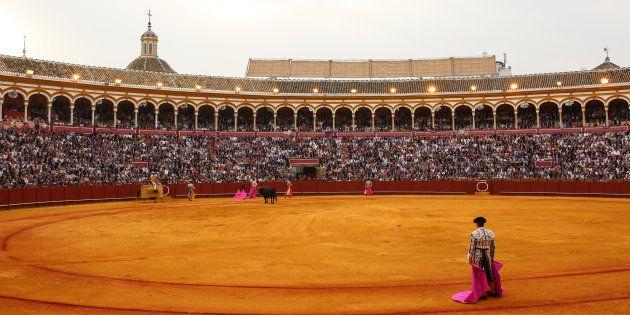 La Maestranza de Sevilla, durante una corrida de la pasada Feria de