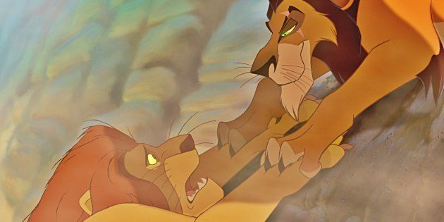 Mufasa y Scar, de 'El Rey León', no eran