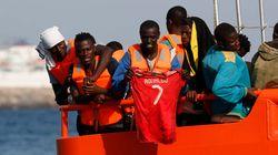 Rescatados 41 inmigrantes en el Estrecho, entre ellos ocho menores y una