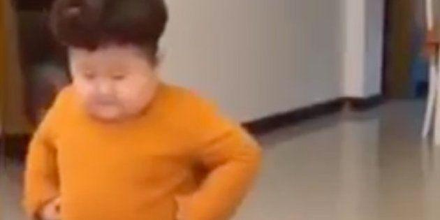 El jocoso baile viral de 'mini Kim Jong-un' con el que no podrás parar de