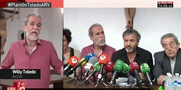El tenso rifirrafe entre Willy Toledo y Antonio García Ferreras en pleno directo de 'Al Rojo