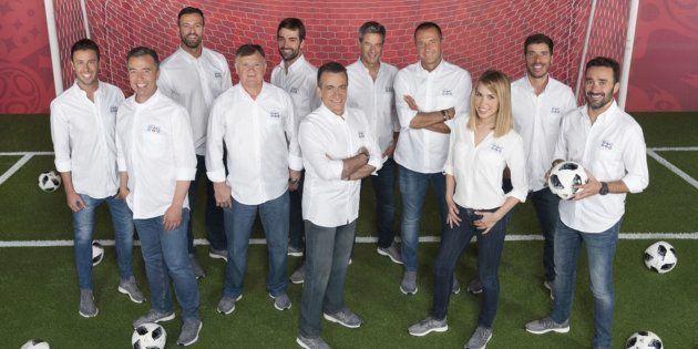 Este es el equipo de Mediaset que cubrirá el Mundial
