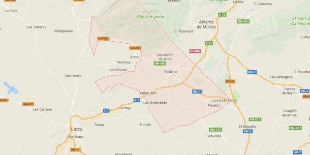 Una pareja hallada muerta en Totana (Murcia) en un posible caso de violencia de