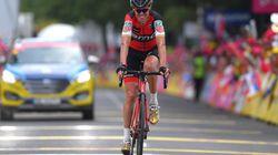 El ciclista español Samuel Sánchez, suspendido tras dar positivo por