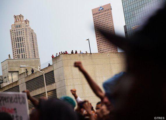 Ferguson, una población mayoritariamente negra azotada por la