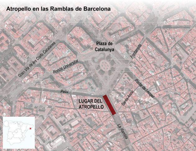 Detalle del desarrollo del atentado en