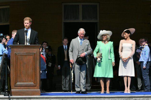 Las imágenes de Meghan Markle en su primer acto oficial como duquesa de