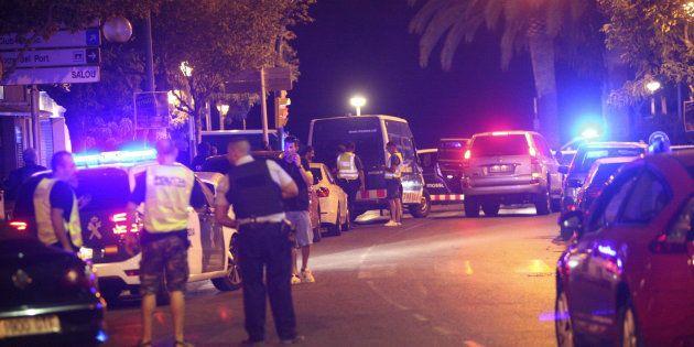 Siete heridos y cinco terroristas abatidos en un atentado en Cambrils