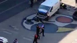 El conductor de la furgoneta que mató a 13 personas sigue