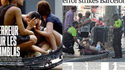 El ataque yihadista en Cataluña, en la prensa