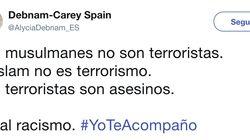 #YoTeAcompaño, la campaña solidaria que inunda Twitter tras el doble atentado de