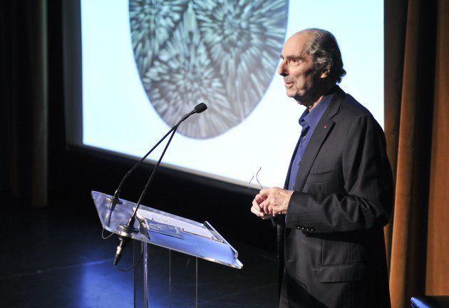 Philip Roth, durante una conferencia en Nueva York el 14 de mayo de