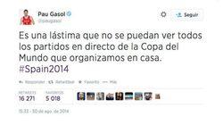 Los jugadores de España critican la cobertura televisiva del Mundial de