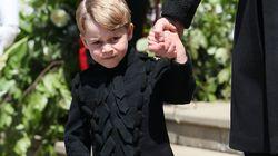 El detalle del 'look' del príncipe Jorge que se te pasó por alto en la boda