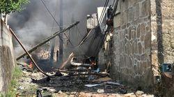 Al menos un muerto y 30 heridos en la explosión de un almacén ilegal de pirotecnia ilegal en