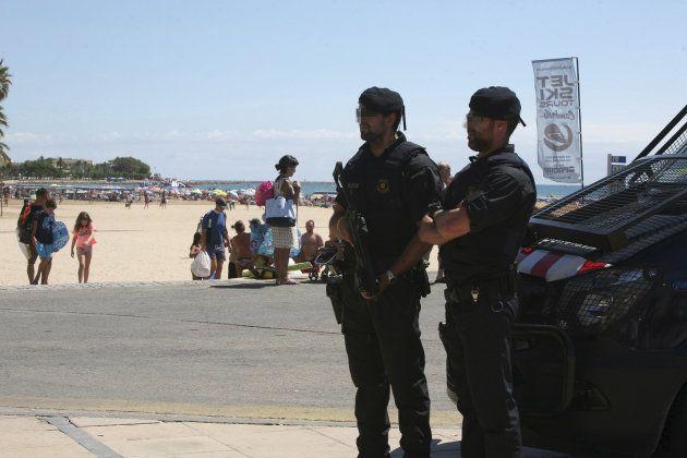 Dispositivo de seguridad en Tarragona tras el