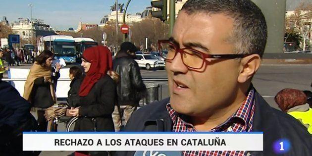 Críticas a TVE por usar declaraciones de 2015 para informar del doble atentado en