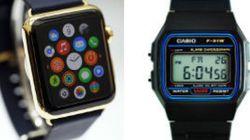 ENCUESTA: ¿Qué reloj prefieres? ¿El Apple Watch o el Casio de toda la