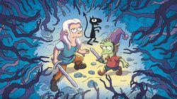 El creador de 'Los Simpson' vuelve con una serie sobre una princesa guerrera y