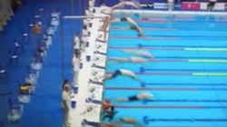 El gesto de este nadador español cuando le negaron un minuto de silencio por
