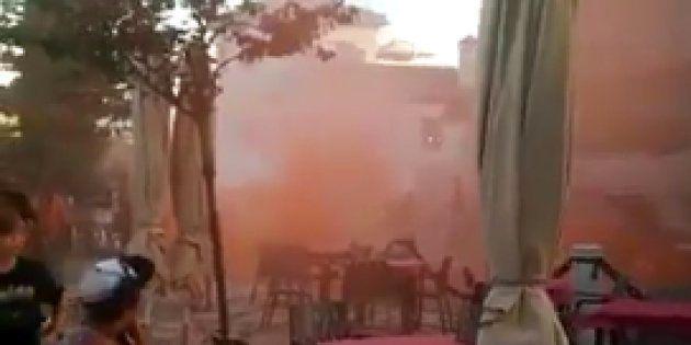 Ataque fascista a una mezquita en