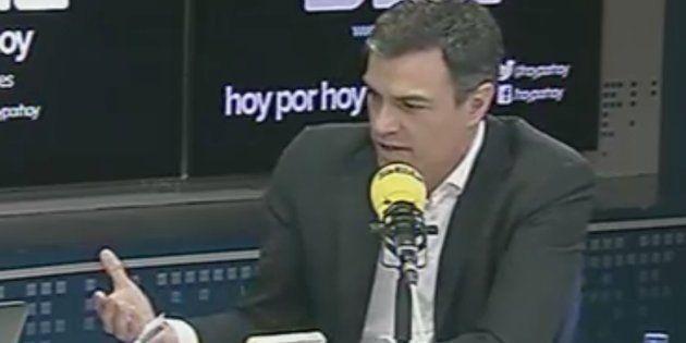 Pedro Sánchez reprocha a ERC que haga president a un