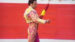 El torero Antonio Ferrera se niega a poner las banderillas al toro al pitarse la bandera de