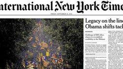 La 'V' independentista en la prensa nacional... e internacional