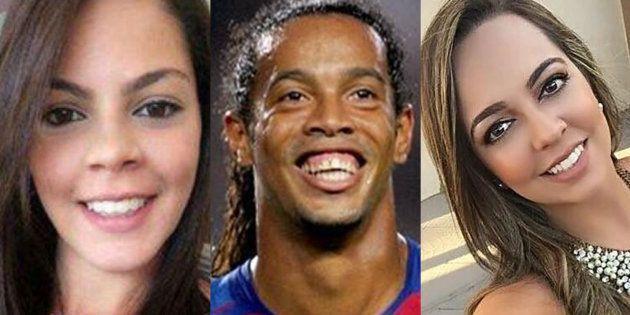 Beatriz Souza, Ronaldinho y Priscilla