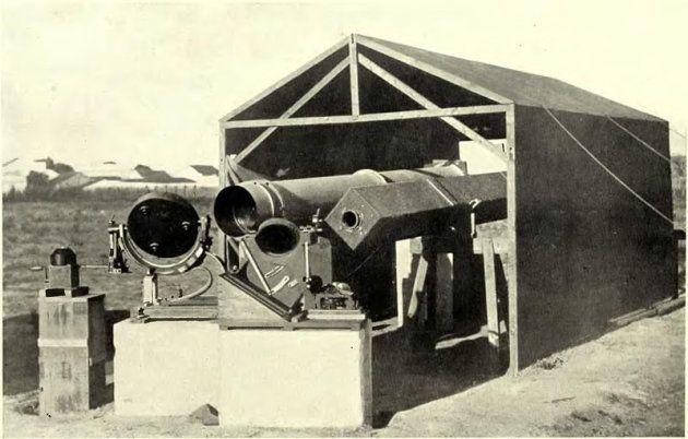 El instrumento utilizado por el equipo de Eddington para observar el