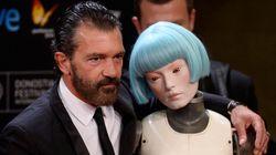 Así posa Antonio Banderas en el Festival de San Sebastián sin Melanie Griffith
