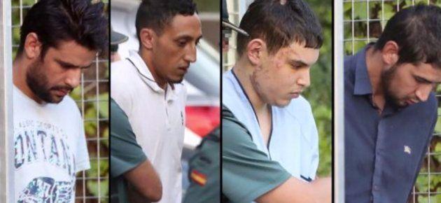 Cuatro de los terroristas implicados en el atentado de