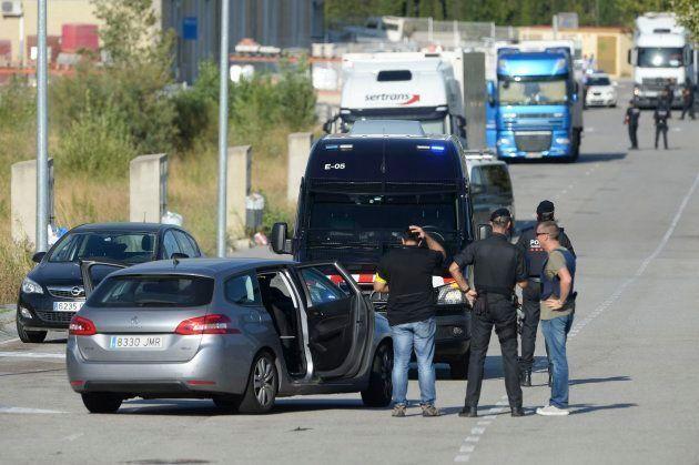 Operación de la policía catalana para capturar a Younes