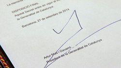 La convocatoria de la consulta, en