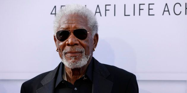 El actor Morgan Freeman, fotografiado en Los Angeles el 8 de junio de