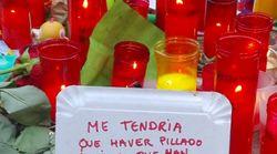 El duro mensaje de un sintecho a las víctimas del atentado que emociona a miles de