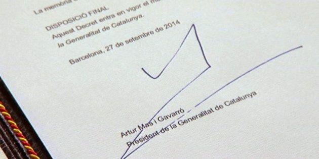La convocatoria de la consulta soberanista, en