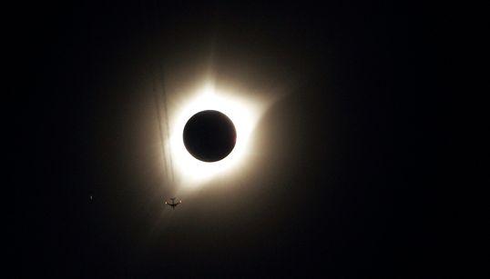 Las mejores fotos del eclipse total de