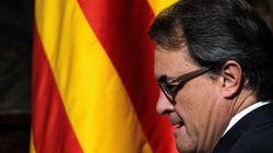Los movimientos de Rajoy y Mas tras la suspensión de la