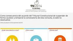 La Generalitat mantiene abierta la web de la