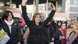 Juana Rivas comparece ante el juez tras tres semanas