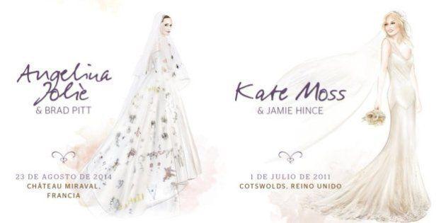Ocho vestidos de novias famosas que marcaron una época