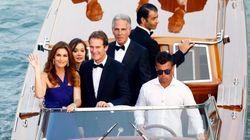 Desfile de famosos en Venecia por la boda de George Clooney