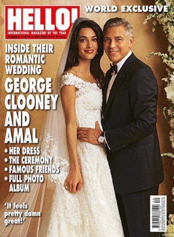 Vestido de novia de Amal Alamuddin: así se casó la esposa de George