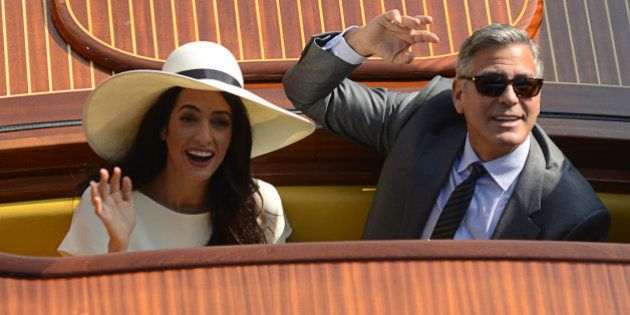 La boda de George Clooney y Amal Alamuddin costó 10 millones de euros