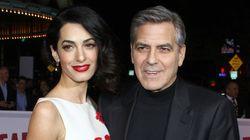 George Clooney y su mujer, Amal, serán padres de gemelos en